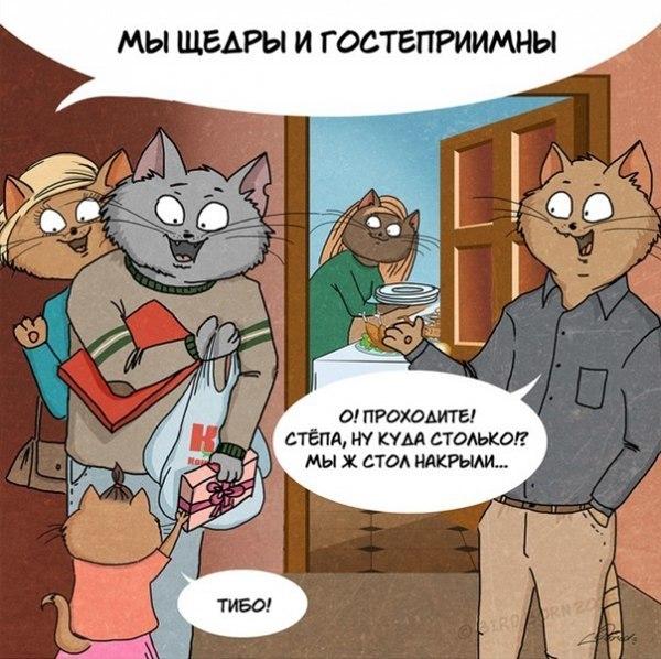 О русской душе и коты