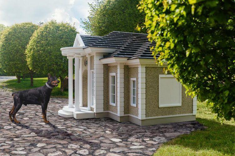Шикарные собачьи будки стоимостью до 200 000 долларов