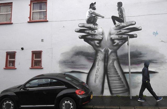 Уличные рисунки со всего мира