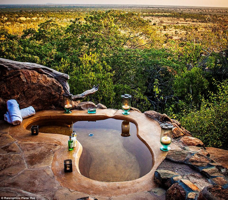 Лучшие горячие бассейны и ванны мира