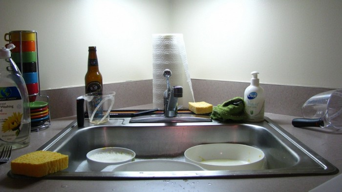 Самые грязные места на кухне