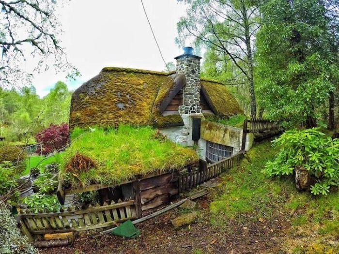 Жилище Хоббита в Шотландии