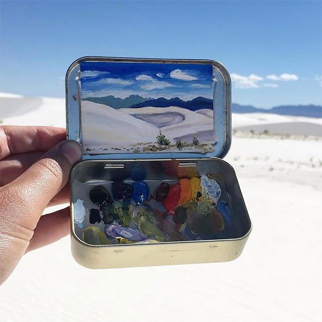 Миниатюрные пейзажи от Хайди Аннализ