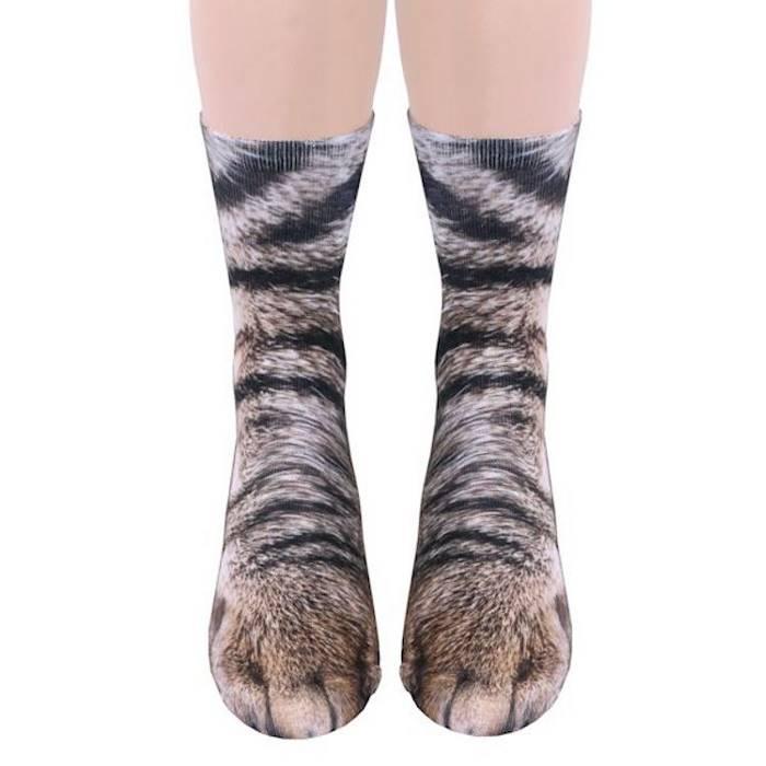 Необычные носки превратят ваши ноги в лапы животных