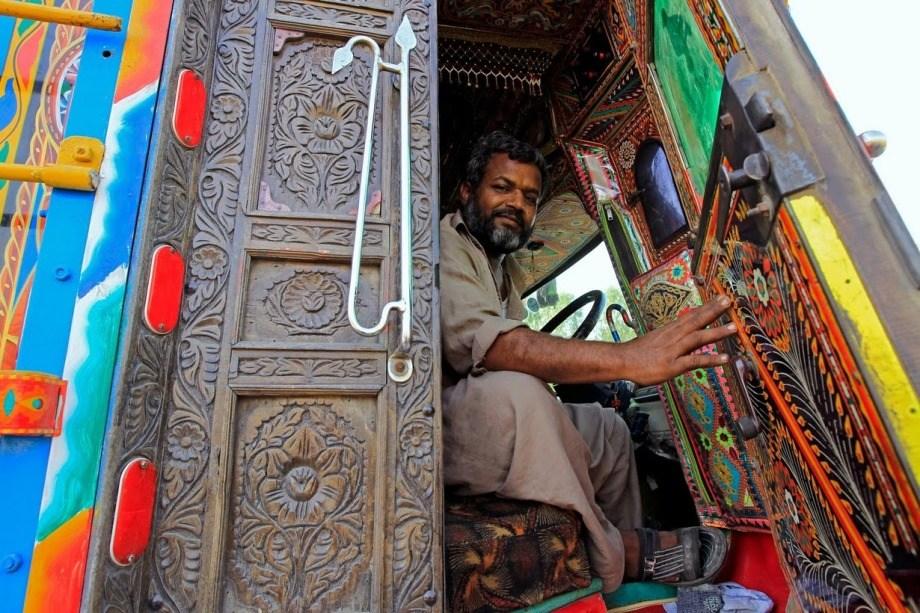 Арт-грузовики Пакистана