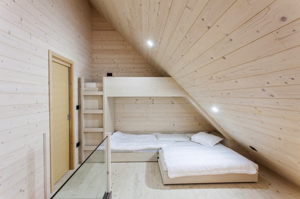 Деревянный дом в Словении