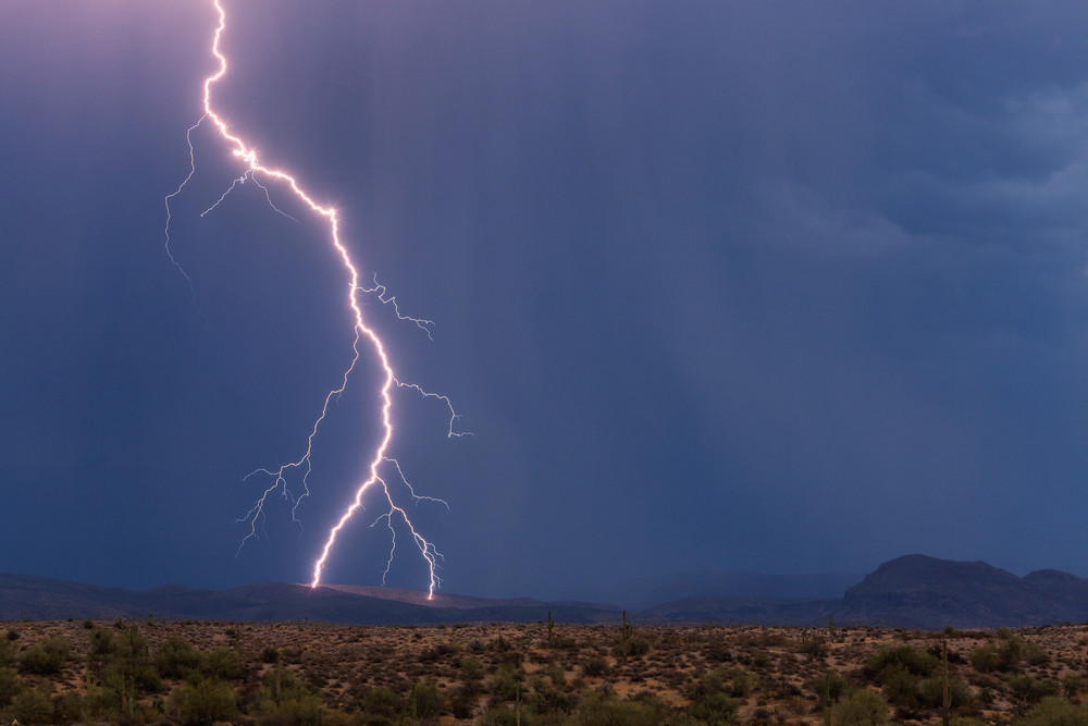 Впечатляющие фотографии молний