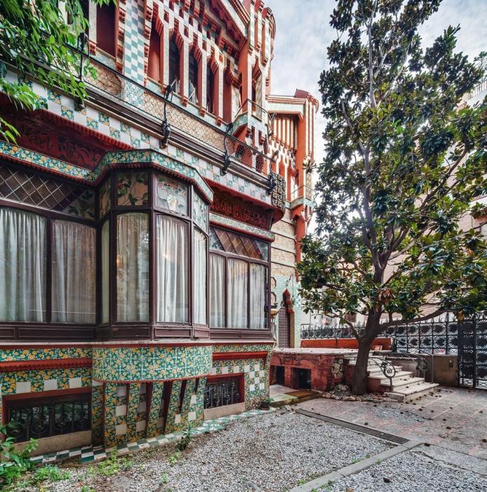 Дом Висенс в Барселоне стал музеем и открыт для туристов