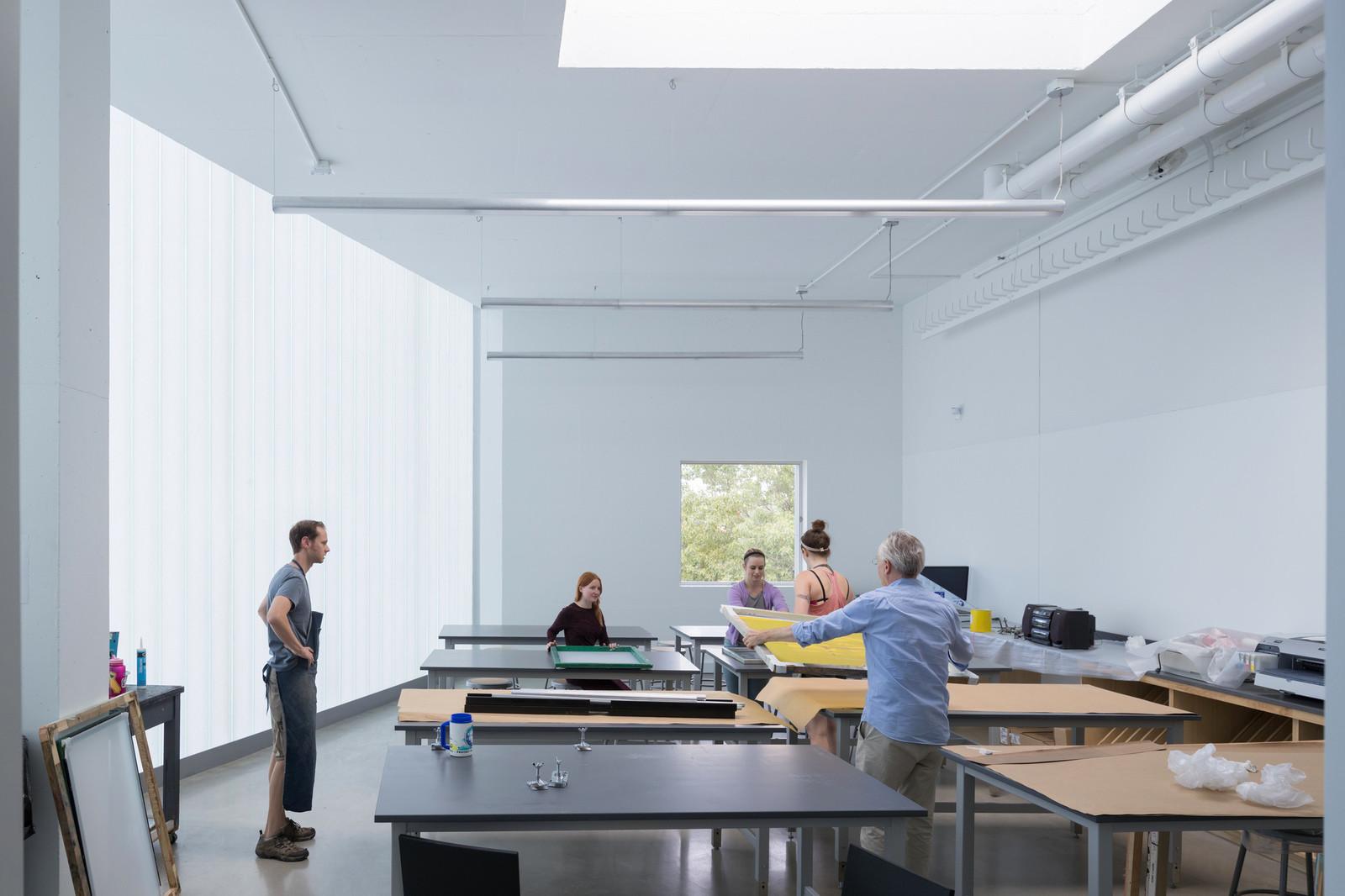 Кампус университета для художников и искусствоведов в США