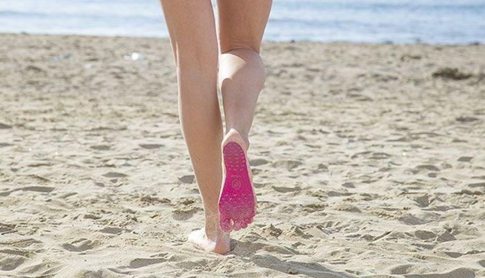 Подошвы, призванные заменить пляжную обувь