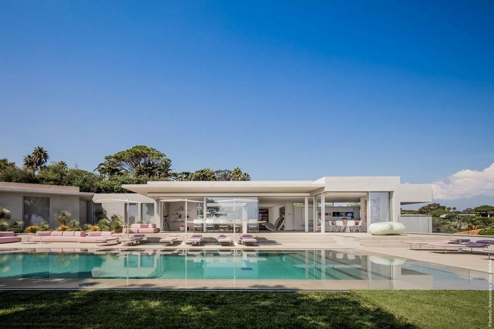 Дом на Лазурном Берегу с видом на Средиземное море