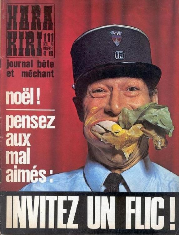 Самый скандальный журнал Hara Kiri