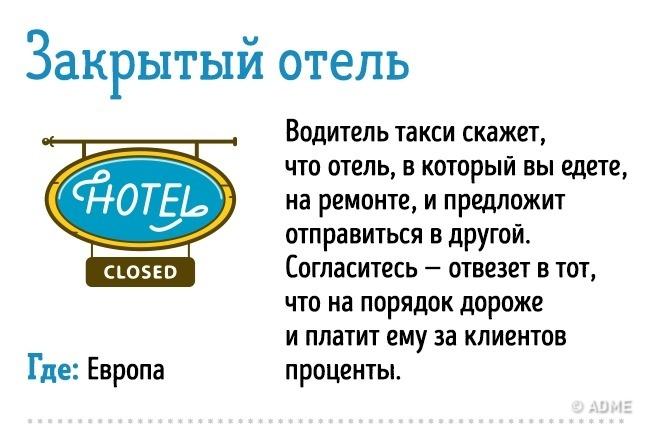 Уловки мошенников для обмана туристов