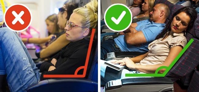 9 трюков для тех, кто не может заснуть в самолете