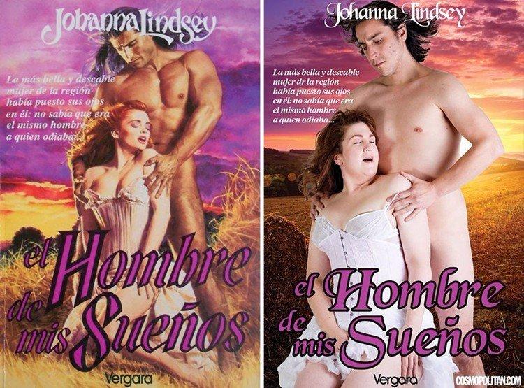 Обложки любовных романов от обычных людей