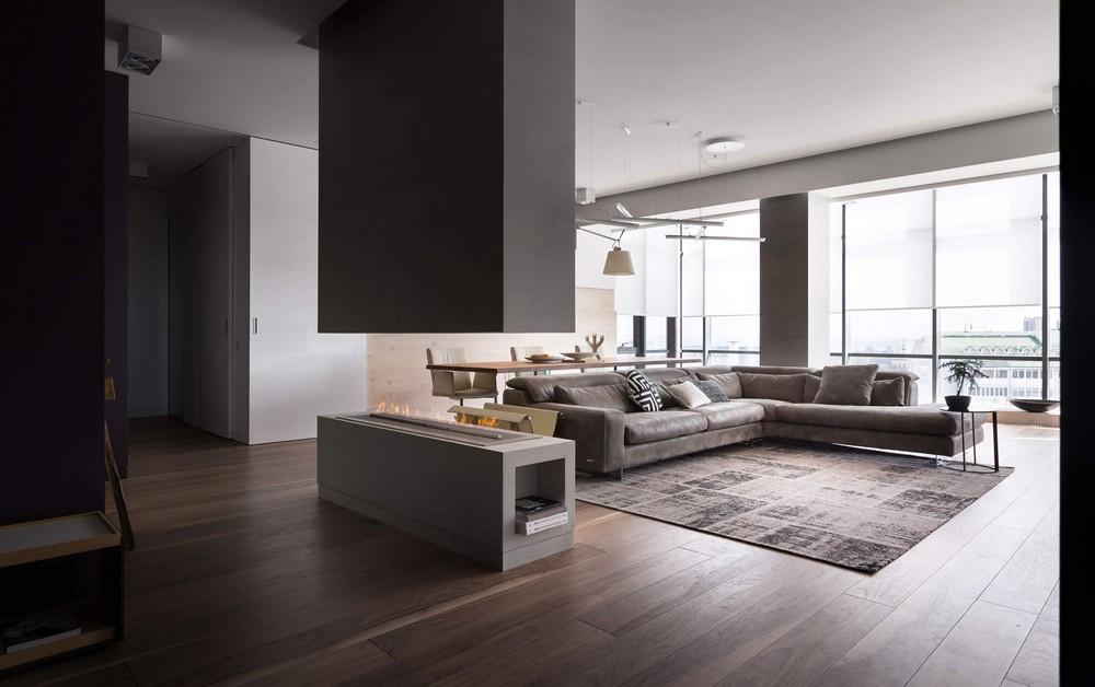 Современная квартира-студия в Днепре