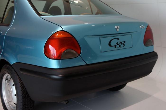 Бюджетный седан Porsche C88