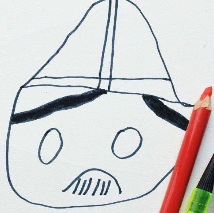 Отец оживляет рисунки 6-летнего сына