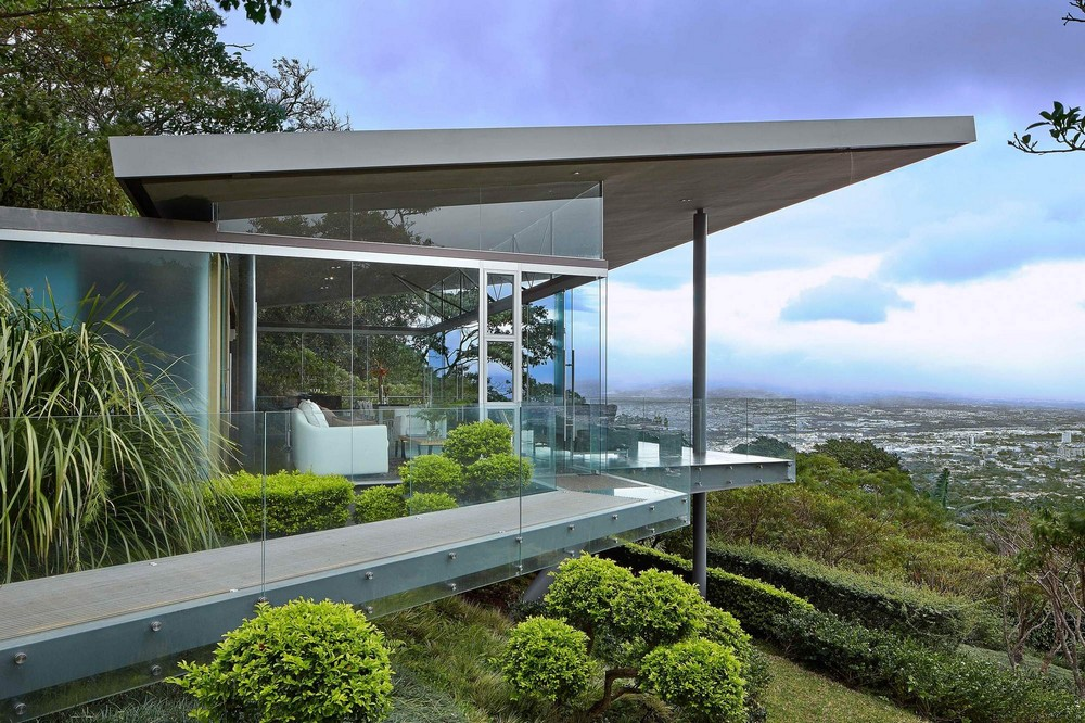 Потрясающий стеклянный дом в Коста-Рике