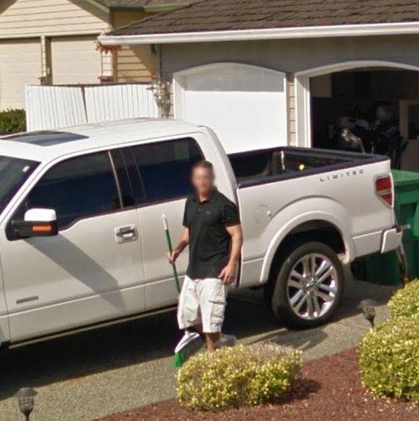 Забавная встреча с автомобилем Google Car