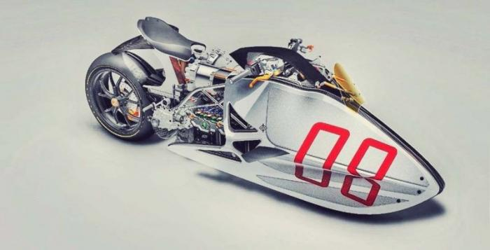 Футуристический концепт мотоцикла Fulcrum Sprint