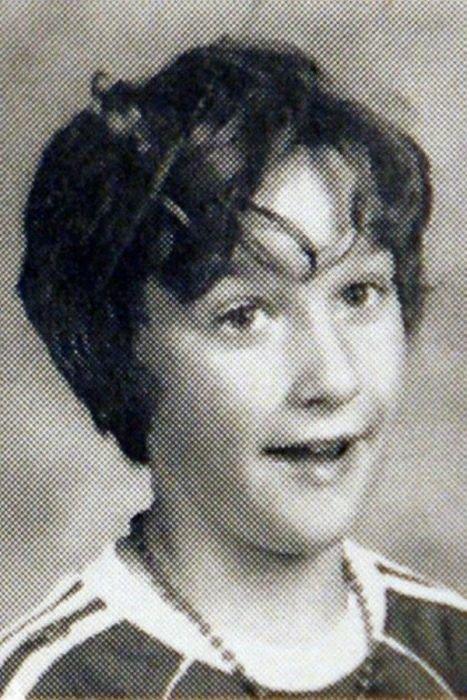 Школьные фотографии знаменитостей