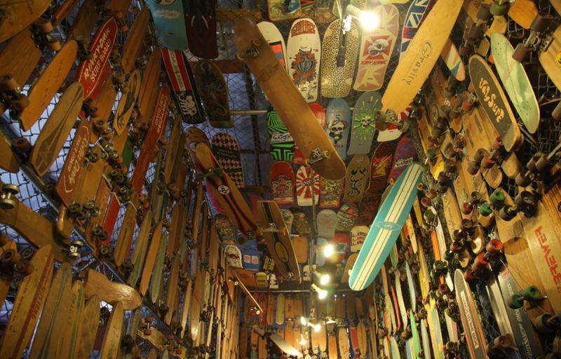 Уникальная коллекция скейтбордов стоимостью полмиллиона долларов