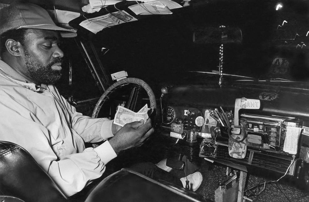Яркие пассажиры такси Нью-Йорка в 80-е годы