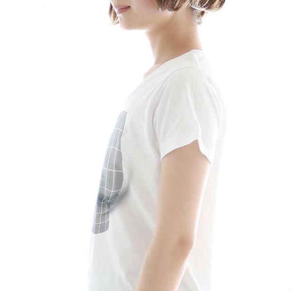 Женская футболка с эффектом большого бюста