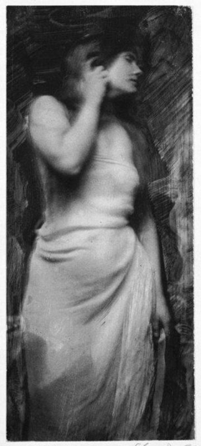 Женские портреты начала 20 века Фрэнка Юджина