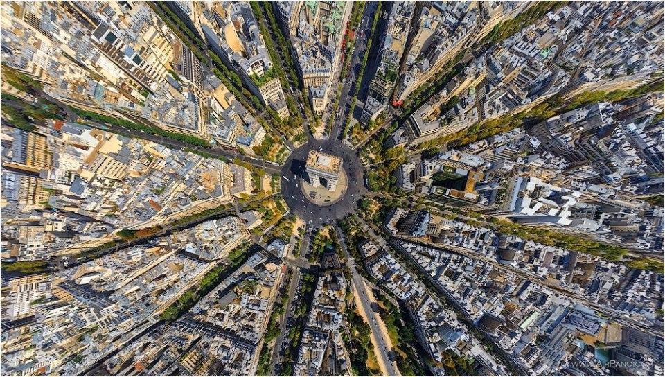 Красота мира с высоты птичьего полета от Алекса МакЛина