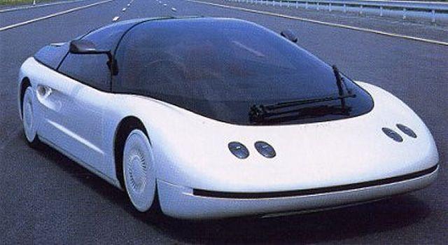 Японский автодизайн разных лет