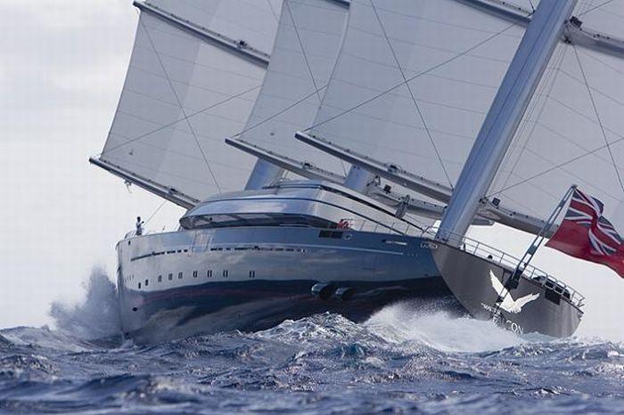 Яхта Мальтийский сокол