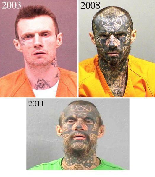 Забавные магшоты американских преступников
