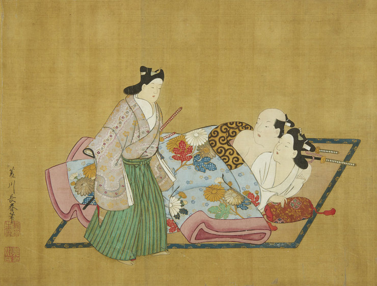 История и культура секса в древней Японии