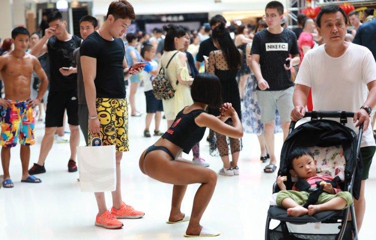 Конкурс Мисс Бум Бум добрался до Китая