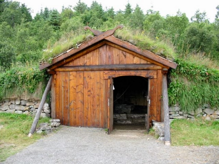 Музейный комплекс Лофотр в норвежской деревне