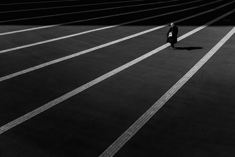 Одиночество Токио в фотографиях Хирохару Мацумото