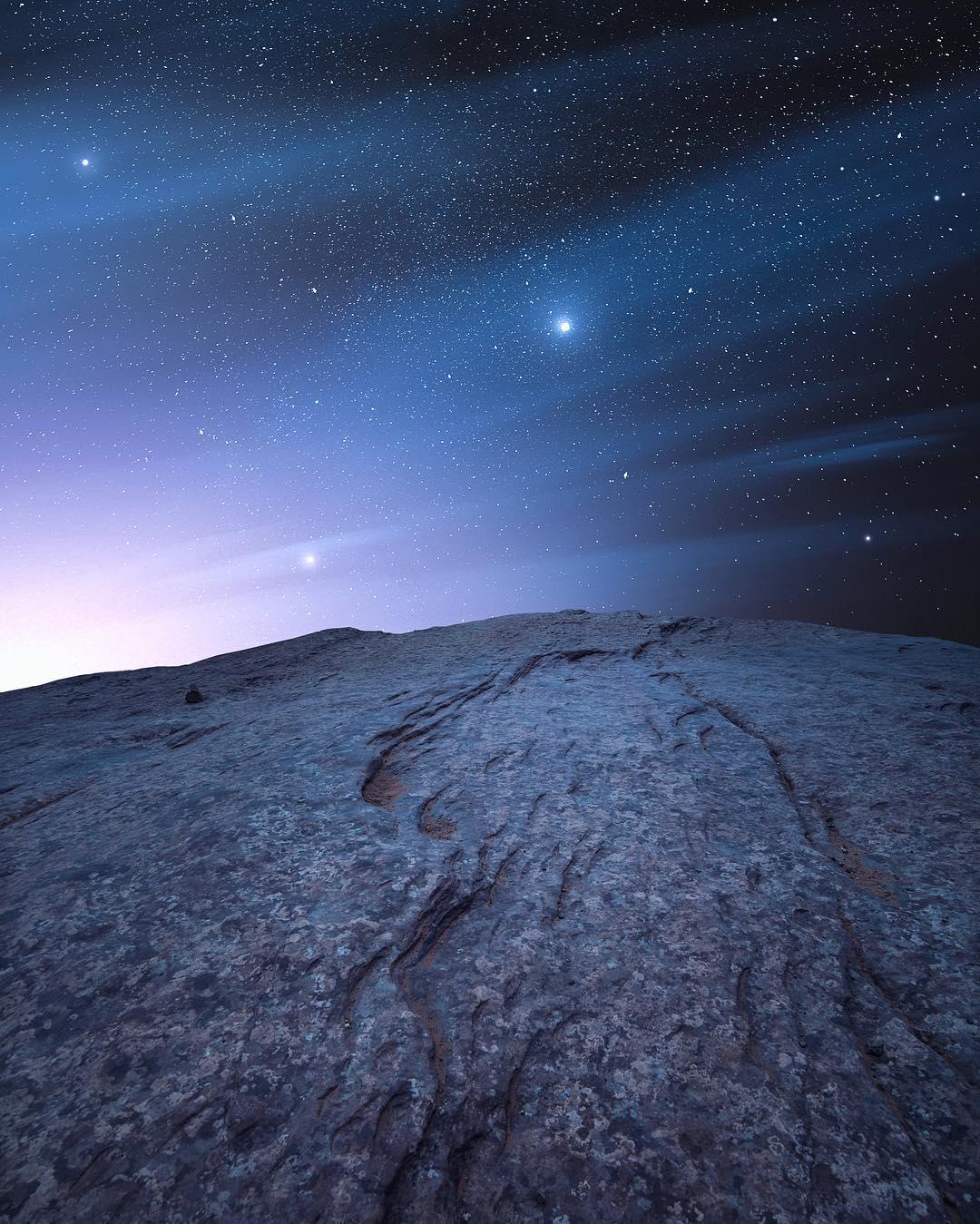 Ночные пейзажи и астрофотографии от фотографа Jaxson Pohlman