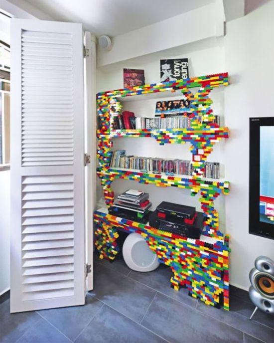 Оригинальные конструкции из деталей Lego