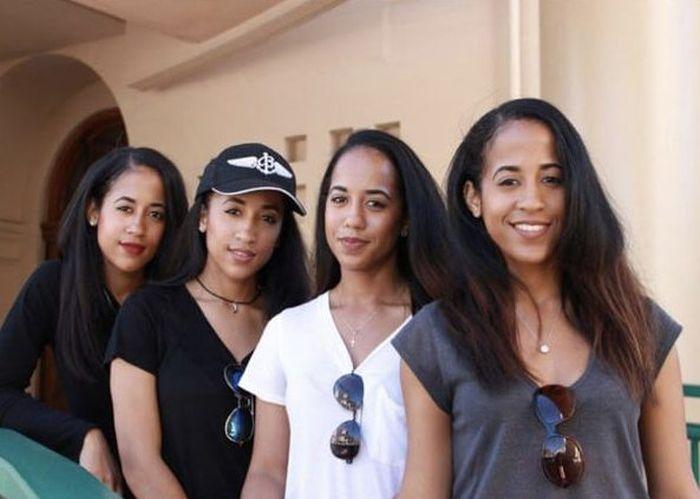 Очаровательные близняшки, тройняшки и четверняшки из разных стран мира