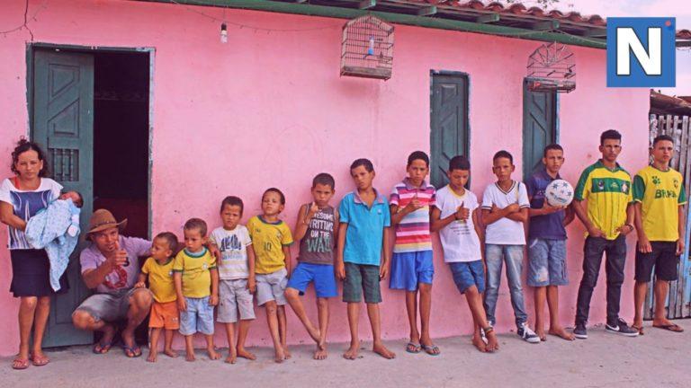 13 детей и ни одной дочки