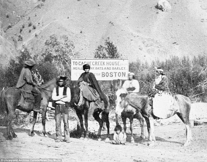 Подборка архивных снимков Канады