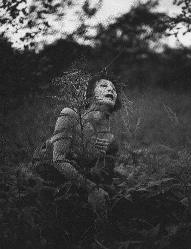 Странные ню фото от Эйко Хосоэ