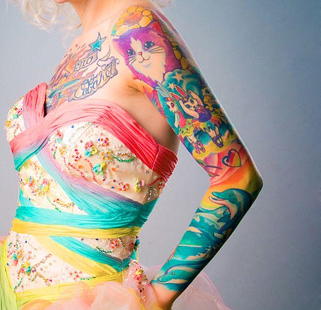 Татуировки, как произведения искусства