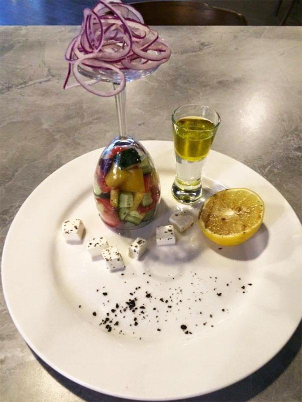 Оригинальные и забавные способы подачи еды в ресторанах