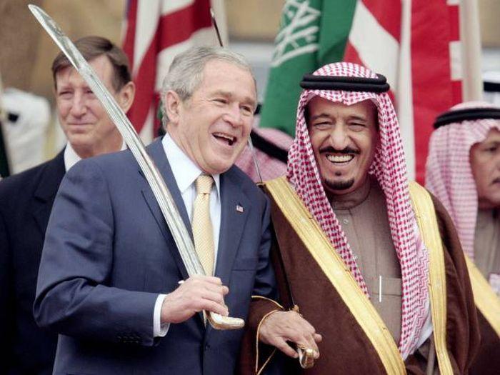 Забавные фото Джорджа Буша младшего