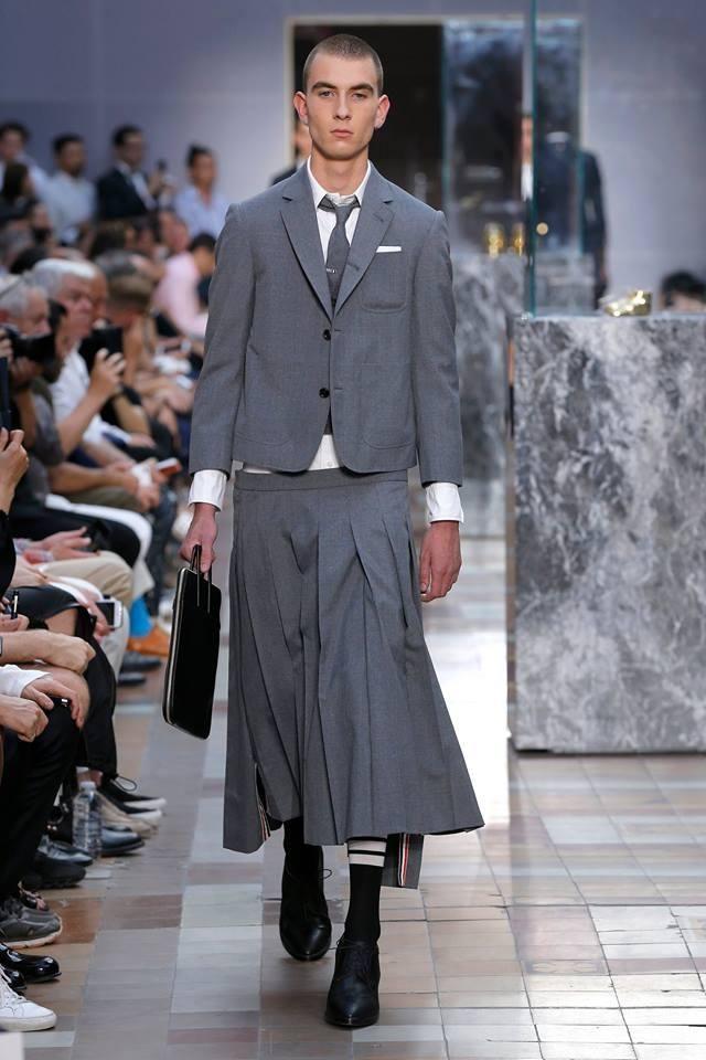 Строгие наряды для модных щеголей от Тома Брауна