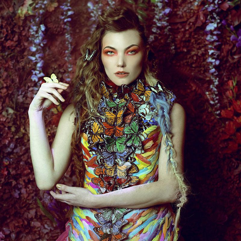 Потрясающие сюрреалистические портреты от фотографа Даниэлы Мэджик
