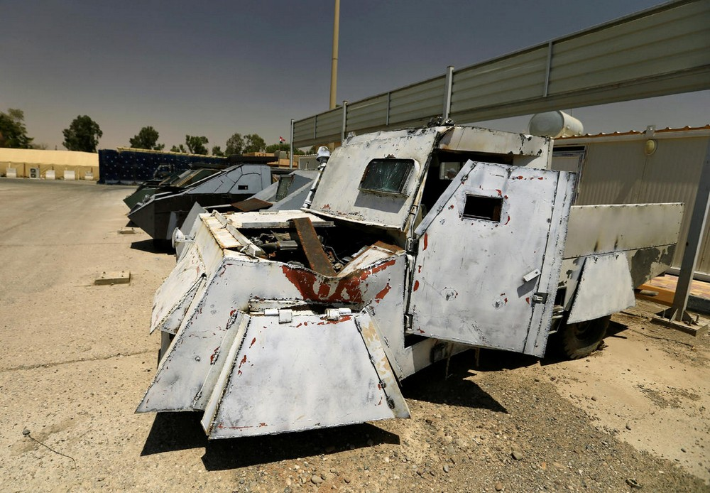 Автомобили боевиков ИГИЛ